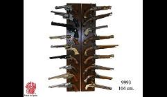 Подставка настенная п/12кинжалов(пистолетов)