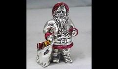 Статуэтка Санта Клаус с мешком подарков