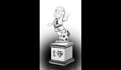 Статуэтка Люблю футбол (Linea Platinum)
