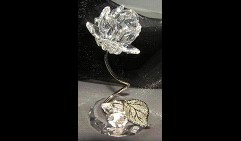 Роза из кристаллов (mini)