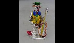 Статуэтка Клоун с контрабасом