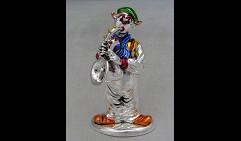 Статуэтка Клоун саксофоном