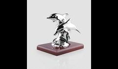 Скульптура Пара дельфинов