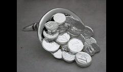 Статуэтка Рог изобилия с деньгами (Размер 2)