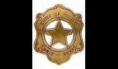 Бэйдж шефа полиции США
