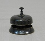 Звонок настольный  Секретарский  , диам. 9 см антик