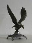 Статуэтка  Орел  на подставке, антик