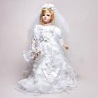 Кукла фарфоровая  Пэгги  , 46 см