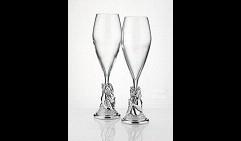 Подарочный набор бокалов под шампанское С наступающим. . . !!!