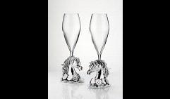 Подарочный набор бокалов под шампанское Символ 2014 года