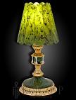 Лампа настольная украшенная  УЮТ