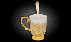 Чашечка чайная украшенная  ЭГОИСТ