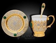 Набор украшенный чайный  АРОМАТ