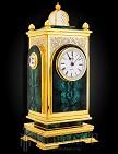 Часы украшенные каминные  КОЛОСС