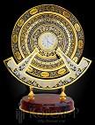Календарь настольный украшенный  ВЕЧНОСТЬ  с часами