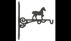 Крючок декоративный  Лошадь