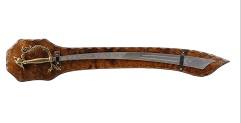 Меч панно с восточным мечом