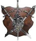 Трофей с 3-мя мечами