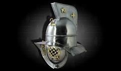 Шлем Ретиария Гладиаторский