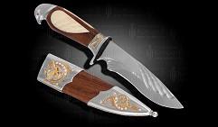Нож украшенный  СОКОЛ