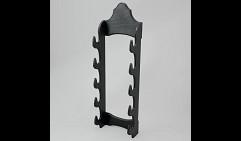 Подставка под 5 мечей (чёрная)