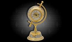 Часы - глобус настольные ГЕОГРАФ